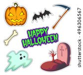 patch badges collection of... | Shutterstock .eps vector #496306567