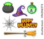 patch badges collection of... | Shutterstock .eps vector #496306573