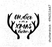 Oh Deer Its Xmas Here  ...