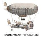 3d illustration of a fantasy... | Shutterstock . vector #496361083