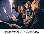 group of friends enjoying out...   Shutterstock . vector #496447357
