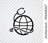 global health  icon   Shutterstock .eps vector #496468267