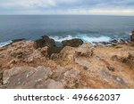 the cliff at nelson lighthouse... | Shutterstock . vector #496662037