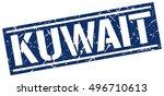 kuwait. grunge vintage kuwait... | Shutterstock .eps vector #496710613