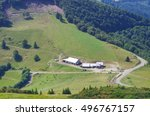 Summer View In French Vosges...