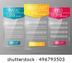 design element for website.... | Shutterstock .eps vector #496793503