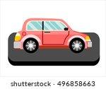 vector car icon | Shutterstock .eps vector #496858663