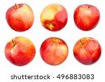 apples isolated | Shutterstock . vector #496883083