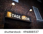 Small photo of Illuminated sign at theatre in London's West End