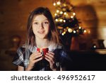 christmas  celebration  holiday ... | Shutterstock . vector #496952617