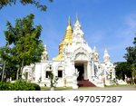 the beautiful temple of... | Shutterstock . vector #497057287