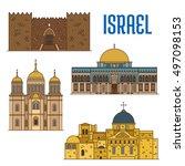 israel vector detailed...   Shutterstock .eps vector #497098153