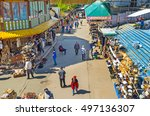 moscow  russia   may 10  2015 ... | Shutterstock . vector #497136307
