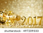 new years eve celebration... | Shutterstock . vector #497209333