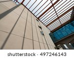 local building architecture and ... | Shutterstock . vector #497246143