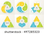 collection of infographic...   Shutterstock .eps vector #497285323