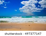 vacation background. amazing... | Shutterstock . vector #497377147