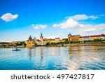 prague  czech republic   june... | Shutterstock . vector #497427817