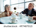seniors at leisure | Shutterstock . vector #497487013