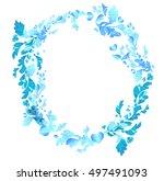 frame circle  frame  design... | Shutterstock .eps vector #497491093