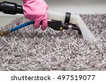 carpets chemical cleaning with... | Shutterstock . vector #497519077