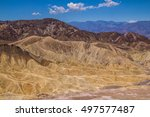 Zabriskie Point  Death Valley...