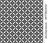 abstract geometric pattern with ... | Shutterstock .eps vector #497582443