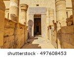 the memorial temple of... | Shutterstock . vector #497608453