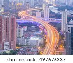shanghai  china   oct. 2  2016  ... | Shutterstock . vector #497676337