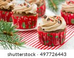 Homemade Christmas Cupcakes...