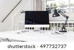 computer mockup | Shutterstock . vector #497732737
