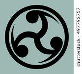 Mitsu Tomoe   Japanese Symbol...