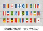 color flags of differemt...