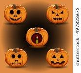 abstract vector illustration of ...   Shutterstock .eps vector #497823673