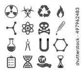 science icons | Shutterstock .eps vector #497962483