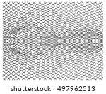 net pattern. rope net vector... | Shutterstock .eps vector #497962513