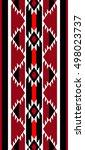 traditional weaving folk... | Shutterstock .eps vector #498023737