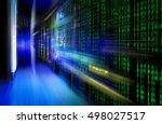 series mainframe in a... | Shutterstock . vector #498027517