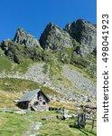 Beautiful Hut In The Swiss Alp...