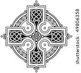 Vector Celtic Cross Traditiona...