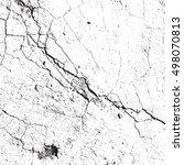 light cracked grainy overlay... | Shutterstock . vector #498070813
