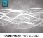 abstract motion wave isolated...