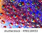 Closeup Of Water Drops And...
