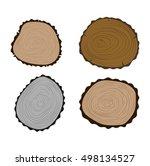 wood slice texture wooden...