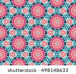 spanish   moroccan design.... | Shutterstock .eps vector #498148633