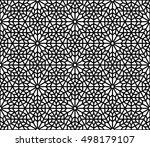 spanish   moroccan design.... | Shutterstock .eps vector #498179107