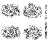 flower set   Shutterstock .eps vector #498199423