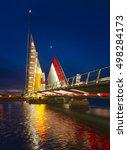 The Twin Sails Lifting Bridge...