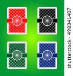 the vector design of reverse... | Shutterstock .eps vector #498341407