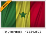 national flag of the republic... | Shutterstock .eps vector #498343573
